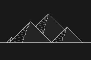 Pyramid Minimal 4k Wallpaper