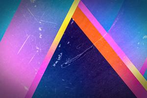 Pyramid Triangle Abstract 4k