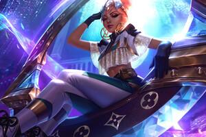 Qiyana League Of Legends 4k Wallpaper