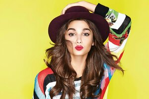 Quad Alia Bhatt Wallpaper