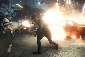 Quantum Break Shooting