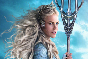 Queen Atlanna As Nicole Kidman In Aquaman Movie