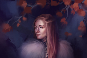 Queen In The North Wallpaper