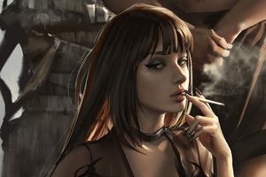 Queen Of King Smoking