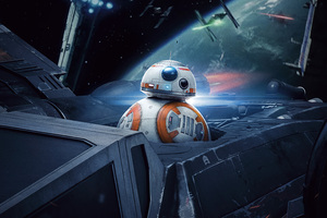 BB8 In Star Wars The Last Jedi 5k Wallpaper