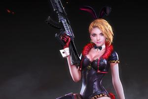 Rabbit Police Officer Pubg 4k