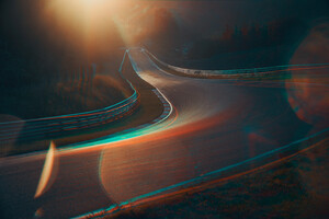 Racing Roads Wallpaper