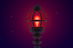 Radio Light Thimbleweed Park Wallpaper