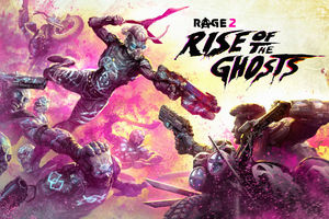 Rage 2 Rise Of The Ghosts Dlc 2019 Wallpaper