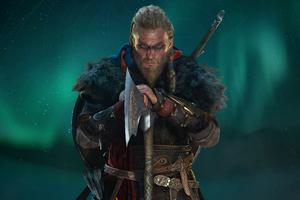 Ragnar Lothbrok Assassins Creed Valhalla 2020 Wallpaper
