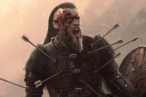 Ragnar Lothbrok Assassins Creed Valhalla Artwork 4k Wallpaper