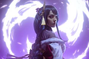 Raideni Genshinimpact Cosplay 4k