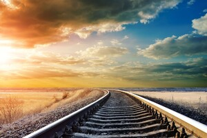 Railway Track 4k Wallpaper