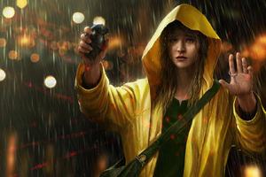 Rain OmeN2501 Wallpaper