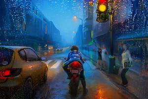 Rain Racing
