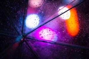 Rain Umbrella 8k Wallpaper
