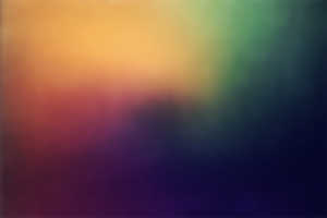 Rainbow Blur Abstract