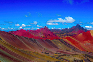 Rainbow Mountains In Peru 4k Wallpaper