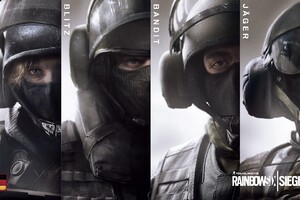 Rainbow Six Seige Collage Wallpaper