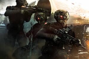 Rainbow Six Siege Concept Art
