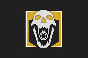 Rainbow Six Siege Skull Minimal 12k Wallpaper