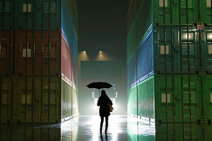 Rainy Night 5k Wallpaper