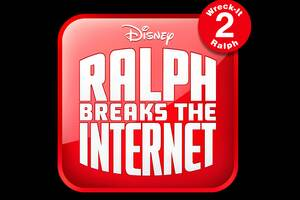 Ralph Breaks The Internet Wreck It Ralph 2 12k Logo Wallpaper