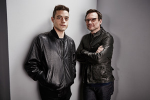 Rami Malek And Christian Slater Wallpaper