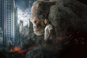 Rampage 2018 Movie 10k Poster Wallpaper