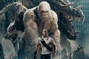 Rampage Movie 4k