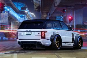 Range Rover Art