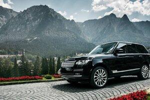 Range Rover Black Wallpaper