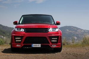 Range Rover CLR RS Lumma Design Wallpaper