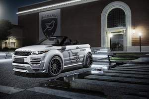 Range Rover Evoque 8k Wallpaper