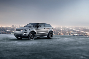 Range Rover Evoque Coupe 4k Wallpaper