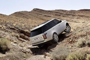 Range Rover Offroading 2 Wallpaper