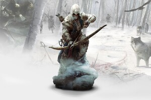 Ratonhnkaketon Assassins Creed 3 Wallpaper