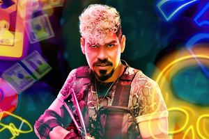 Raul Castillo As Mikey Guzman In Army Of The Dead Character Poster 5k