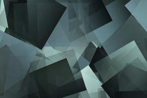 Rave Cube Geometry Square 4k