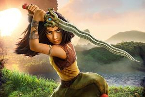 Raya And The Last Dragon 2021 Movie 4k Wallpaper