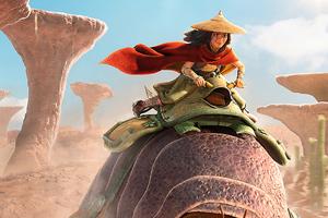 Raya And The Last Dragon Movie 4k Wallpaper
