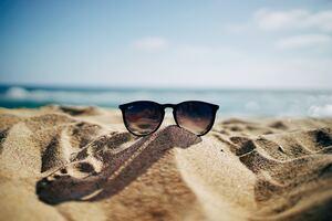 Rayban Sun Glasses Desert 5k Wallpaper