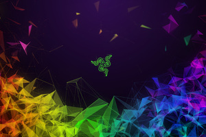Razer Colorful Abstract 4k Wallpaper