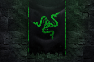 Razer Green Logo 4k 5k Wallpaper