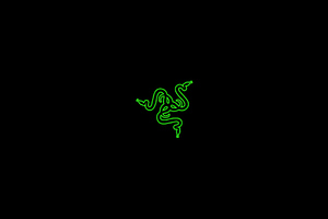 Razer Logo Dark 4k Wallpaper