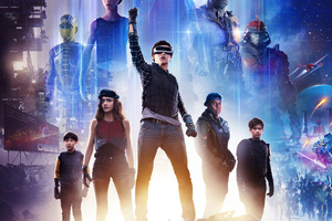 Ready Player One 2018 Movie Poster