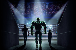 Real Steel 10k Wallpaper
