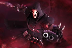 Reaper Overwatch 5k Wallpaper