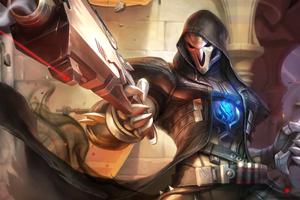Reaper Overwatch Artwork