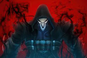 Reaper Overwatch Fanart 4k Wallpaper
